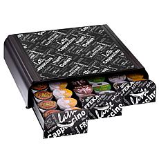 Mind Reader Anchor Printed 36-Coffee Pod Triple Drawer