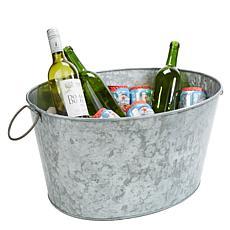 Mind Reader Heavy Duty Galvanized Iron Ice Bucket/Beverage Chiller