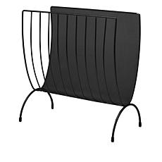 Mind Reader Metal Mesh Magazine Rack Organizer
