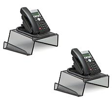 Mind Reader Metal Mesh Phone Stand 2-pack