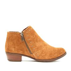 Minnetonka Brie Suede Studded Bootie