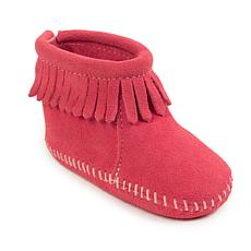 Minnetonka Infant's Back Flap Bootie