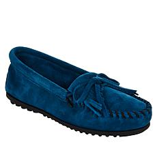 Minnetonka Kilty Suede Loafer Moccasin