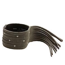 Minnetonka Suede Fringe Cuff Bracelet