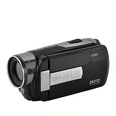 """Minolta 1080p Full HD 3"""" Touchscreen Camcorder with 16GB SD Card"""