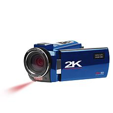 """Minolta 2K 3"""" Touch Screen Camcorder with Night Mode"""