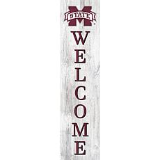 """Mississippi State University 48"""" Welcome Leaner"""