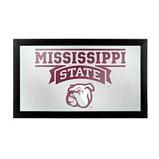 Mississippi State University Logo and Mascot Framed Mir