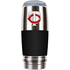 MLB 30 oz. Stainless/Black Reserve Tumbler - Twins