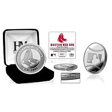 MLB Boston Red Sox Silver-Plated Coin