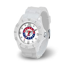 "MLB ""Cloud Series"" Silicone Strap Watch/Texas Rangers"
