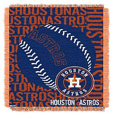 MLB Double Play Woven Throw - Houston Astros