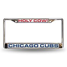 "MLB ""Holy Cow"" Laser-Cut Frame - Cubs"