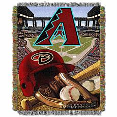 MLB Home Field Advantage Tapestry Throw - Diamondbacks