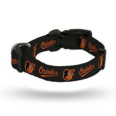 MLB Small Pet Collar - Orioles