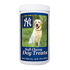 MLB Soft Chewy Dog Treats - Yankees