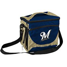 MLB Soft-Sided 24-Can Cooler - Milwaukee Brewers