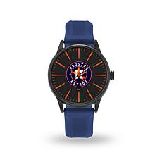 "MLB Sparo Team Logo ""Cheer"" Strap Watch - Astros"