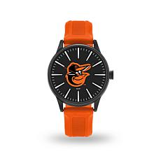 "MLB Sparo Team Logo ""Cheer"" Strap Watch - Orioles"