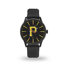"MLB Sparo Team Logo ""Cheer"" Strap Watch - Pirates"