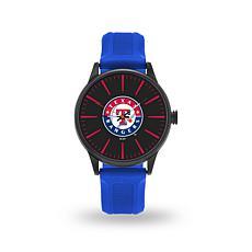 """MLB Sparo Team Logo """"Cheer"""" Strap Watch - Rangers"""