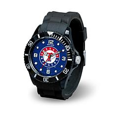 MLB Spirit Rubber Strap Sports Watch - Texas Rangers
