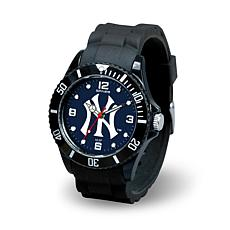 MLB Spirit Rubber Strap Sports Watch/New York Yankees