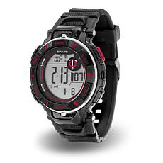"MLB Team Logo ""Power"" Digital Sports Watch - Twins"