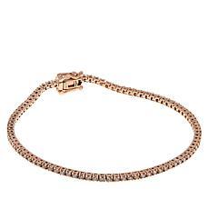 Modani Jewels 14K Rose Gold 1.5ctw Pink Diamond Tennis Bracelet