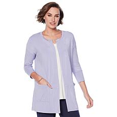 Modern Soul Easy Knit Jersey Cardigan with Pockets