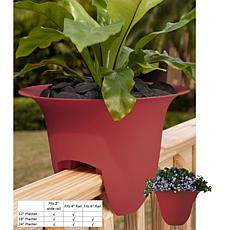 Modica Deck Rail Planter 12 in