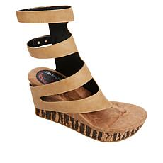 Modzori Corona 2-in-1 Reversible Wedge Gladiator Slide