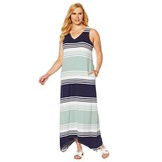 Motto Effortless Sharkbite-Hem Patio Dress