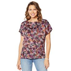 Motto Effortless Woven Printed Top