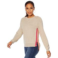 Motto Fearless Side Stripe Sweater