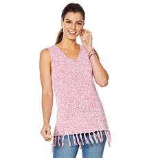 Motto Lightweight V-Neck Sweater Knit Tank