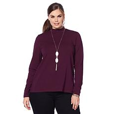 Motto Mock Turtleneck Top