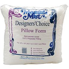 "Mountain Mist Designers' Choice Pillowform - 18"" x 18"""