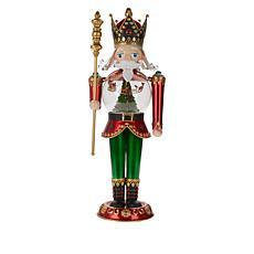 Mr. Christmas 2' Tall LED Animated Nutcracker