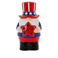 "Mr. Liberty 7"" Patriotic Gnome with 4-Hour Timer"