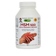 MSM-500 - 360 Capsules