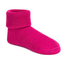 MUK LUKS Cuff Slipper Sock with Anti-Skid Sole
