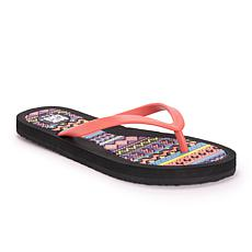 MUK LUKS Peri Flip Flop Sandals