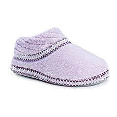 MUK LUKS Rita Micro-Chenille Full-Foot Slipper