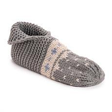 MUK LUKS® Women's Foldover Knit Bootie