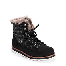 MUK LUKS® Women's Sigrid Water-Resistant Boots - Black/White