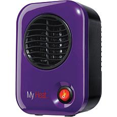 MyHeat 200W Personal Ceramic Heater  Purple