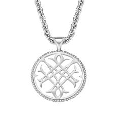 "Natalie Wood Designs Signature Logo Pendant with 31"" Chain"