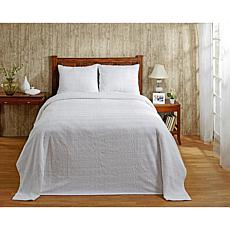 Natick 100% Cotton Tufted Chenille Bedspread - Queen