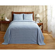 Natick 100% Cotton Tufted Chenille Bedspread - Twin